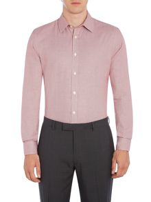 Howick Tailored Grand slim fit shirt with dogstooth check