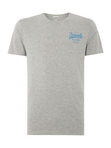 Jack & Jones Small Logo Short Sleeve Crew Neck T-shirt