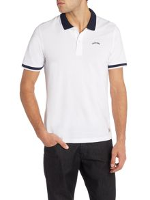 Jack & Jones Tipped Collar Short Sleeve Polo Shirt