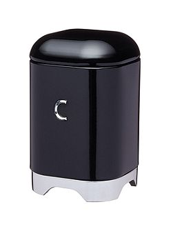 Lovello Coffee Canister Black