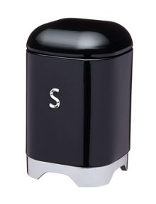 Kitchen Craft Lovello Sugar Canister Black