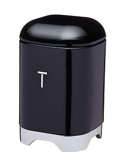 Lovello Tea Canister Black