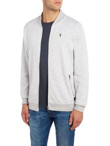 Jack & Jones Baseball Neck Zip Through Sweatshirt