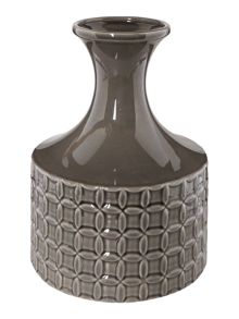 Living by Christiane Lemieux Tilda bottle grey vase
