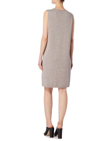 Linea Limited wool rich knitted tunic dress