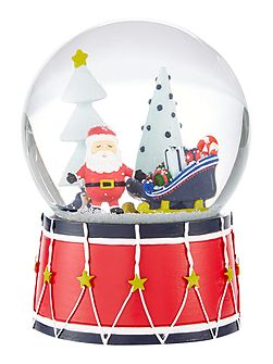 Novelty Santa Snow globe