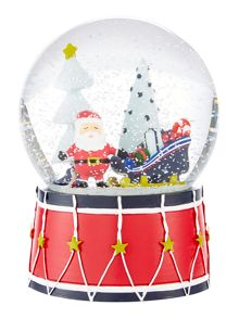 Linea Novelty Santa Snow globe