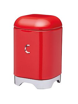 Lovello Coffee Canister Red