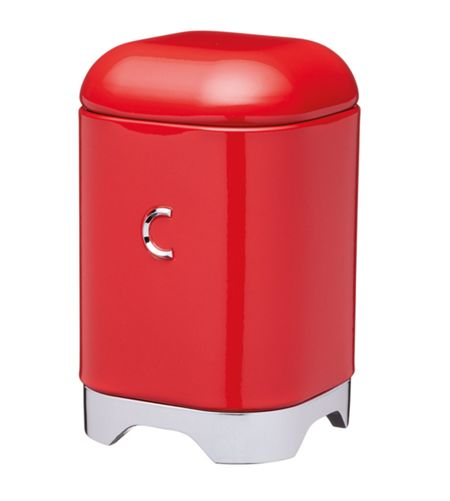 Kitchen Craft Lovello Coffee Canister Red