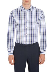 Howick Tailored Elsmere gingham classic shirt