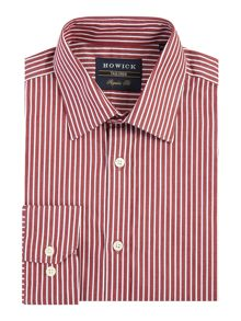 Howick Tailored Brandford herringbone shirt