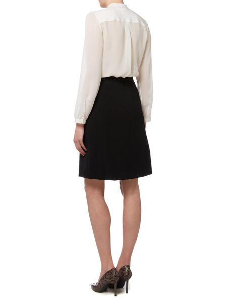 Max Mara Footing tie neck silk shirt