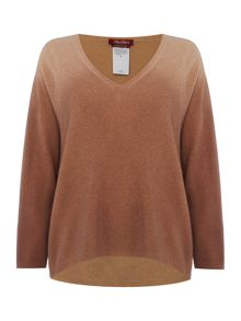Max Mara Memo ombre wool knitted jumper