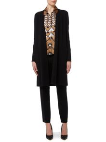 Max Mara Canasta long sleeve silk mix cardigan