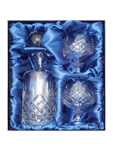 Linea Symphony Lead crystal brandy set