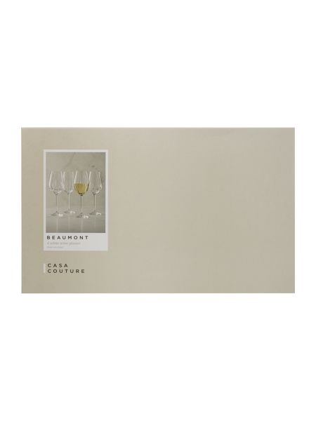 Casa Couture Beaumont white wine set of 4