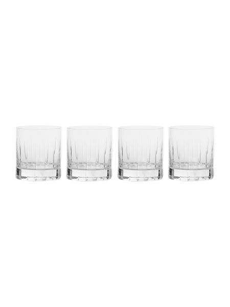 Casa Couture Beaumont set of 4 crystal tumblers