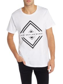 Jack & Jones Solar Sky Lab Graphic Crew Neck T-shirt