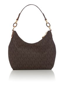 Michael Kors Isabella brown hobo bag