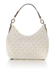 Michael Kors Isabella neutral hobo bag