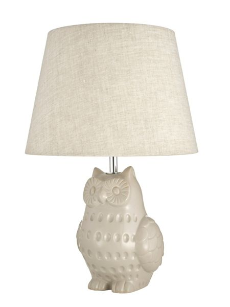 Linea Owl Ceramic Table Light