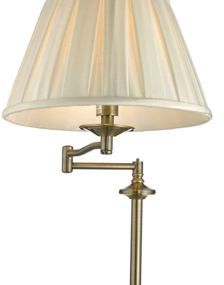 Linea Eton Antique Brass Table Light
