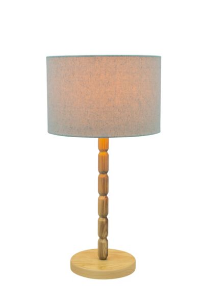 Linea Columbia Wood Table Lamp