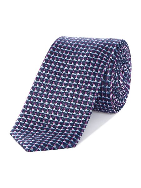Kenneth Cole Miguel link geo jaquard tie