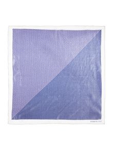 Kenneth Cole Hugo geo and pindot pocket square