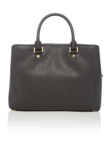Michael Kors Savannah black large tote bag