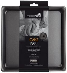 Masterclass Deep Square Cake Pan Loose Base 23cm