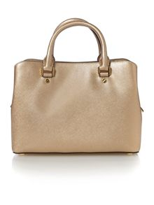 Michael Kors Savannah gold medium tote bag