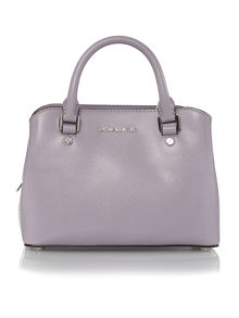 Michael Kors Savannah purple small tote bag