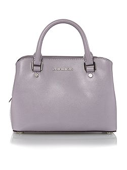 Savannah purple small tote bag