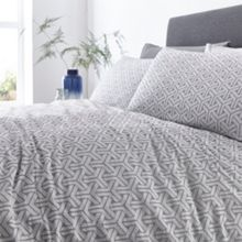 Living by Christiane Lemieux Geo jacquard duvet cover