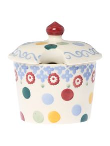 Emma Bridgewater Polka Folk Folk Sugar Pot