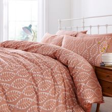 Dickins & Jones Beech leaf jacquard duvet cover