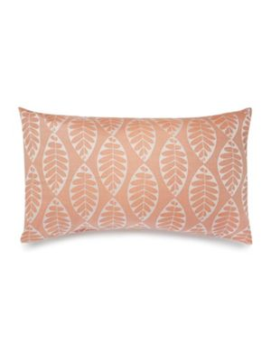 Dickins & Jones Beech leaf jacquard pillowcase pair