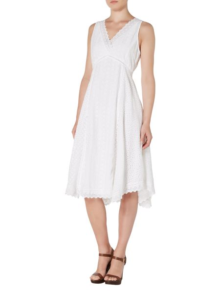 Lauren Ralph Lauren Amorica Sleeveless V Neck Dress