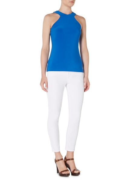 Lauren Ralph Lauren Chartree Sleeveless Top