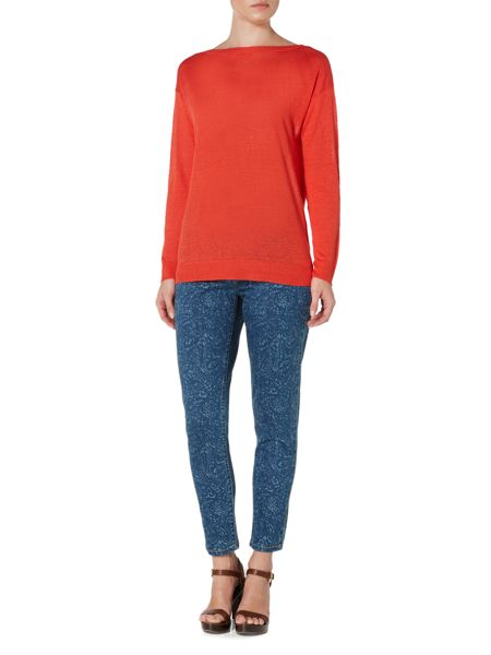 Lauren Ralph Lauren Vaska Long Sleeve Boatneck Jumper