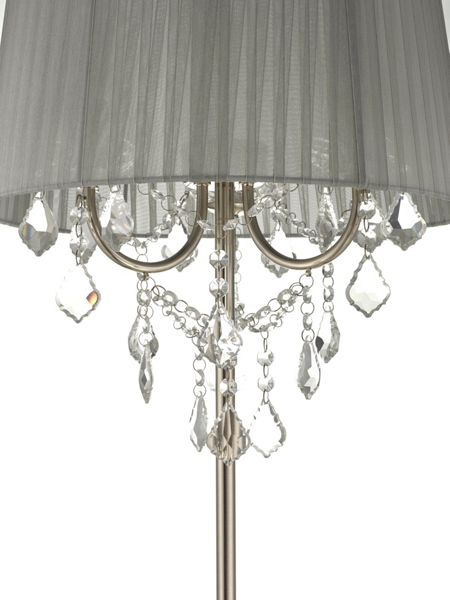 Linea Angellica Crystal Floor Light