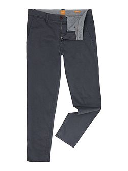 Tapered stretch chinos