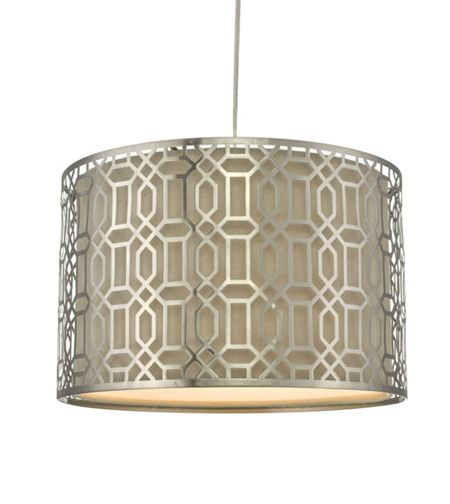 Linea Clare Easy Fit Cut Out Ceiling Pendent