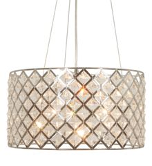 Linea Freya Crystal Diamond Shape Celing Light