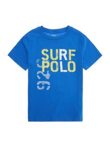 Polo Ralph Lauren Boys Surf Polo Graphic T-shirt