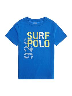 Boys Surf Polo Graphic T-shirt