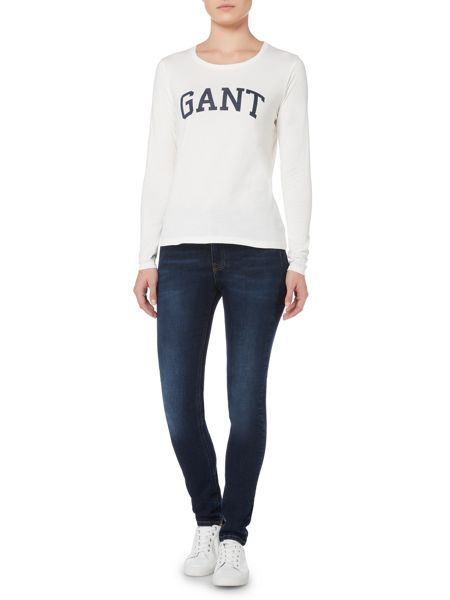 Gant Long Sleeve Logo T-Shirt