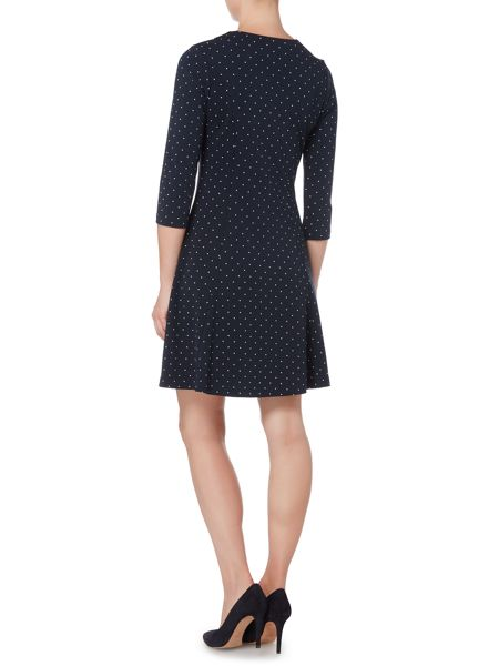 Gant Polkadot 3/4 sleeve dress