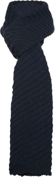 Linea Textured Knitted Scarf